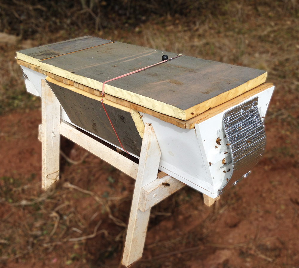Insulating bee hives