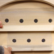 """We give you enough 1/8"""" hardware cloth to make robber screens to protect your bees from neighboring robber bees."""