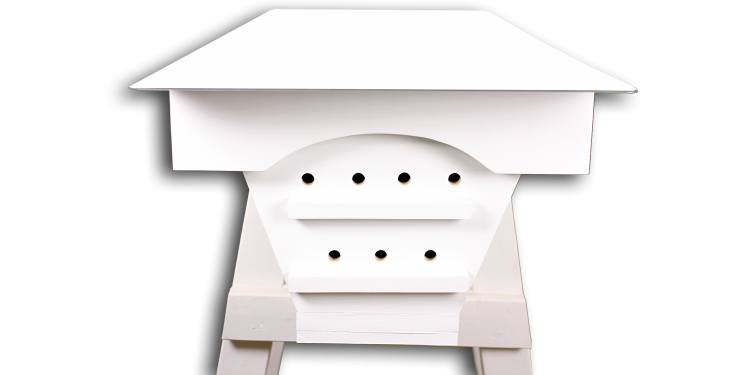 White top bar hive for sale is good for solar reflectivity