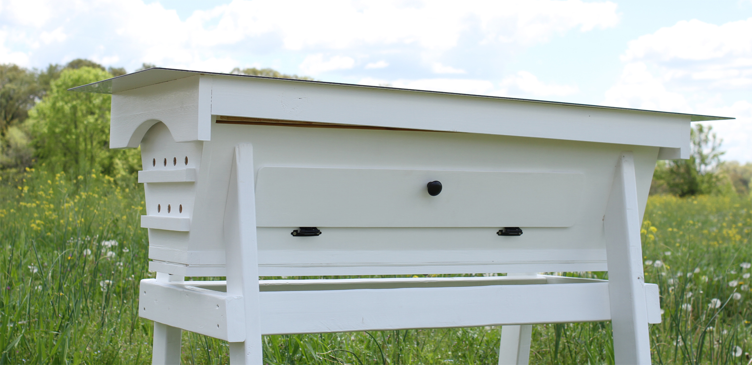 ... Add A Window To Our Top Bar Hive For Easy Inspections And Viewing Of  The Honey ...
