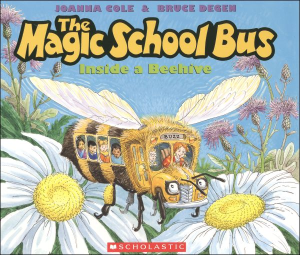 Magic School Bus Honey Bee Punches Varroa Mites